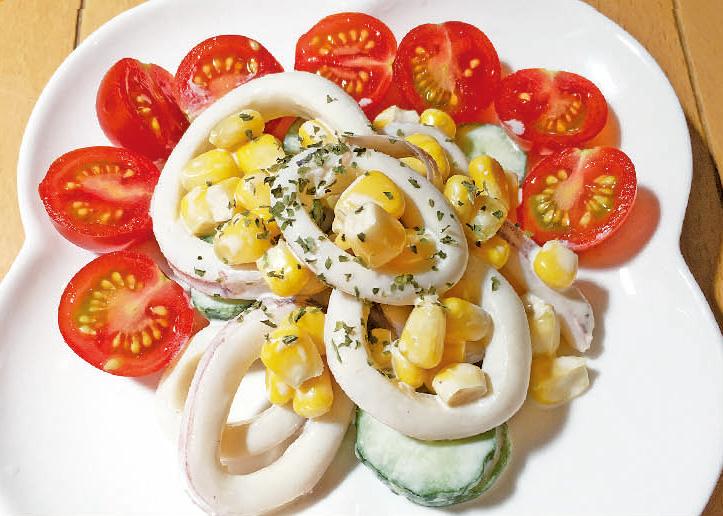 第73回 イカマヨきゅうりサラダ